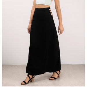 NEVER WORN - Black Maxi Skirt
